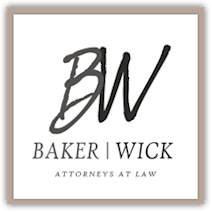 Baker and Wick, Attorneys at Law logo