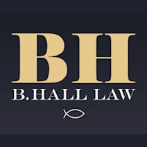 B. Hall Law logo