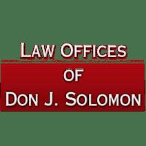 Law Offices of Don J. Solomon logo