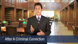 After a Criminal Conviciton