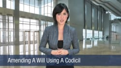 Amending A Will Using A Codicil