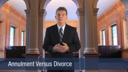 Annulment Versus Divorce