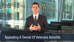 Appealing A Denial Of Veterans Benefits