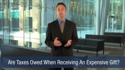 Are Taxes Owed When Receiving An Expensive Gift