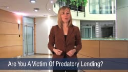 Are You A Victim Of Predatory Lending