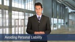 Avoiding Personal Liabiity