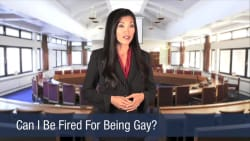 Can I Be Fired For Being Gay