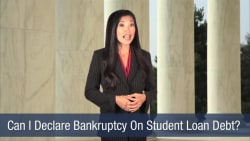 Can I Declare Bankruptcy On Student Loan Debt