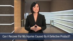 Can I Recover For My Injuries Caused By A Defective Product