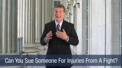 Can You Sue Someone For Injuries From A Fight