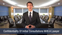 Confidentiality Of Initial Consultations With A Lawyer