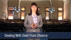 Dealing With Debt From Divorce