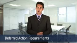 Deferred Action Requirements