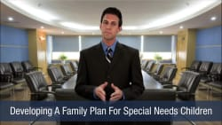 Developing A Family Plan For Special Needs Children