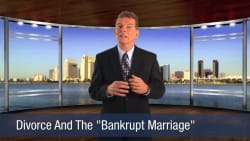 Divorce And The Bankrupt Marriage
