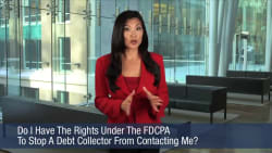 Do I Have The Rights Under The FDCPA To Stop A Debt Collector From Contacting Me