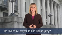 Do I Need A Lawyer To File Bankruptcy