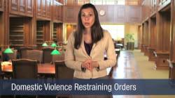 Domestic Violence Restraining Orders