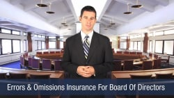 Errors & Omissions Insurance For Board Of Directors