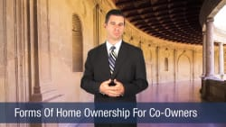 Forms Of Home Ownership For Co-Owners
