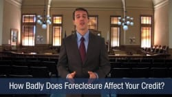 How Badly Does Foreclosure Affect Your Credit