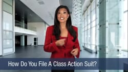 How Do You File A Class Action Suit