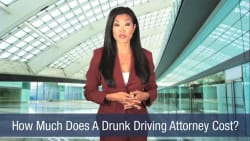 How Much Does A Drunk Driving Attorney Cost