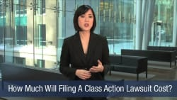 How Much Will Filing A Class Action Lawsuit Cost