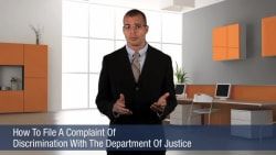 How To File A Complaint Of Discrimination With The Department Of Justice
