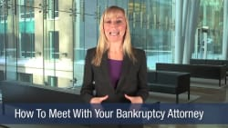 How To Meet With Your Bankruptcy Attorney