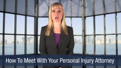 How To Meet With Your Personal Injury Attorney