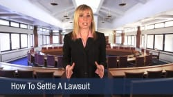 How To Settle A Lawsuit