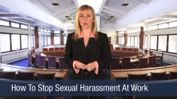 How To Stop Sexual Harassment At Work