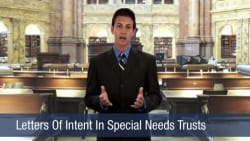 Letters Of Intent In Special Needs Trust
