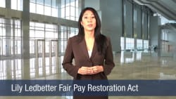 Lily Ledbetter Fair Pay Restoration Act