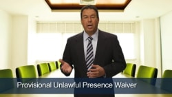 Provisional Unlawful Presence Waiver