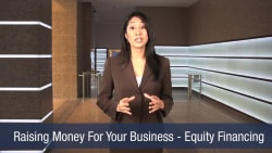 Raising Money For Your Business – Equity Financing