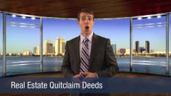 Real Estate Quitclaim Deeds