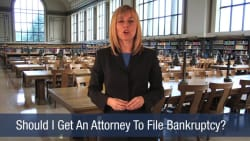 Should I Get An Attorney To File Bankruptcy
