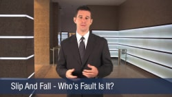 Slip And Fall – Who's Fault is it
