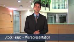 Stock Fraud – Misrepresentation