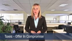 Taxes – Offer In Compromise