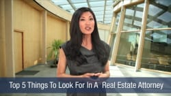 Top 5 Things To Look For In A Real Estate Attorney