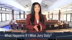 What Happens If I Miss Jury Duty
