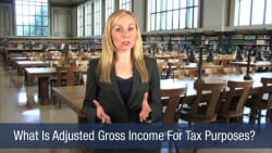 What Is Adjusted Gross Income For Tax Purposes