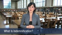 What Is Indemnification