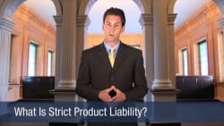 What Is Strict Product Liability