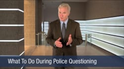 What To Do During Police Questioning