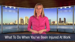 What To Do When You've Been Injured At Work