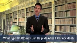 What Type Of Attorney Can Help Me After A Car Accident